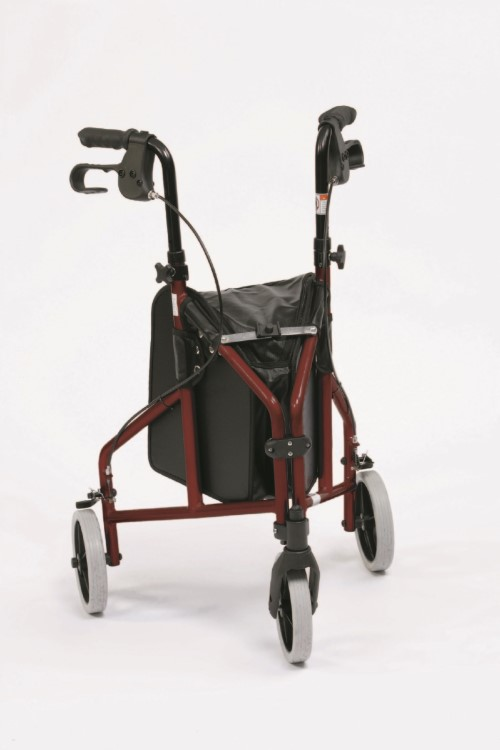TRI WALKER RED ALUMINIUM